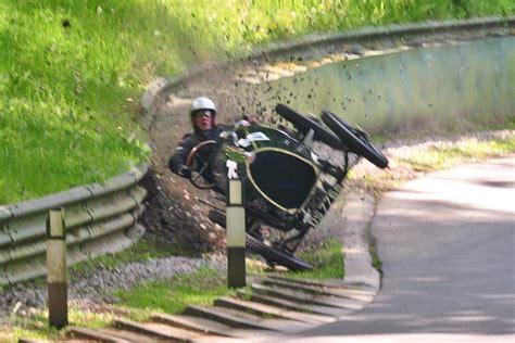 worst bugatti crashes 1924 bugatti t13 crashes at prescott speed hill climb