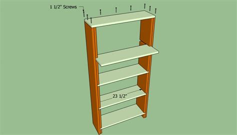 do it yourself built in bookcase plans how to build a bookcase wall howtospecialist how to
