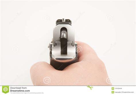 sights   handgun stock photo image