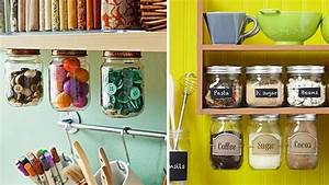 Bocaux Cuisine Déco : bocaux et pots de confiture customiser ~ Teatrodelosmanantiales.com Idées de Décoration