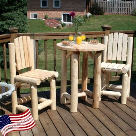 lakeland mills balcony table with 2 chairs traditional
