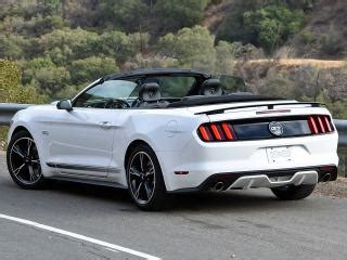 ford mustang cabrio 2017 2017 ford mustang gt convertible california special edition white rear left quarter photos