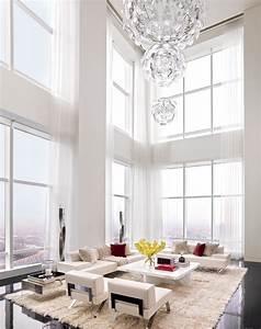 All, White, Living, Room, Design, Ideas