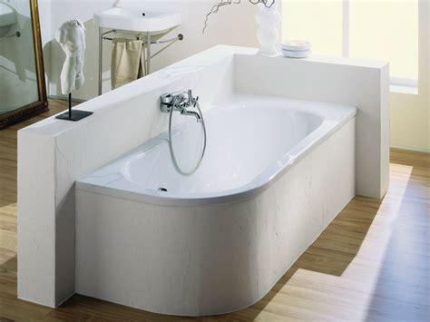 eck asymmetrische badewanne aus emailliertem stahl bettepur iv by bette design schmiddem design