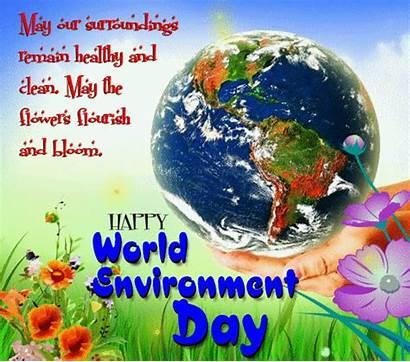 Environment Card Greetings Paryavaran Cartoon