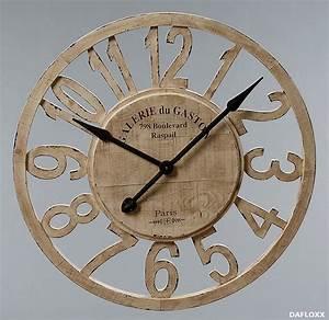 Große Wanduhr Holz : riesige wanduhr 39 paris 39 77cm holz uhr frankreich neu ebay ~ Indierocktalk.com Haus und Dekorationen
