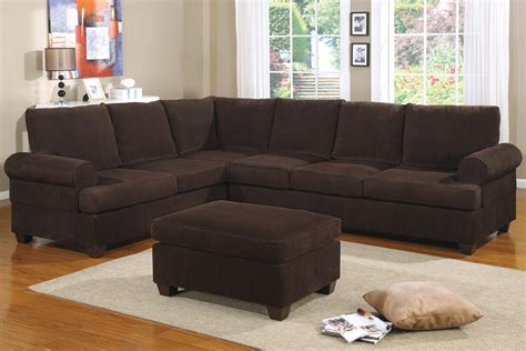 corduroy sofa and loveseat corduroy chocolate sofa sectional reversible set ottoman
