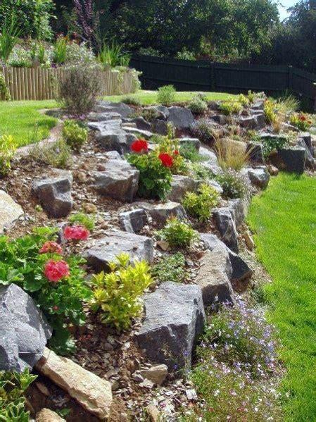 Sloped Backyard Landscaping Ideas by Top 50 Best Slope Landscaping Ideas Hill Softscape Designs