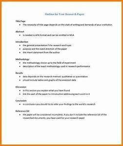 apa term paper outline