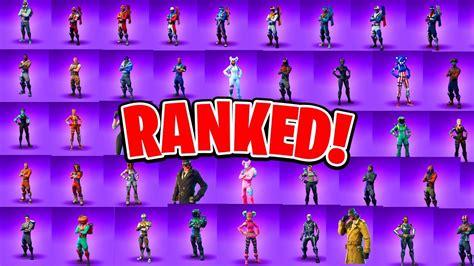 ranking   epic fortnite skins fortnite battle