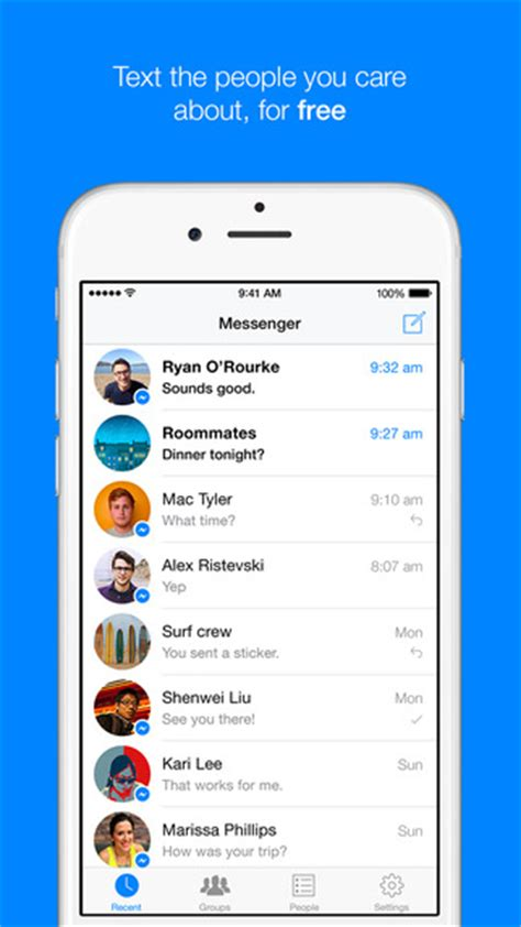 how to screenshot iphone 4 messenger im app store