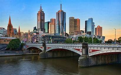Melbourne Australia Wallpapers Desktop Perth Backgrounds Background