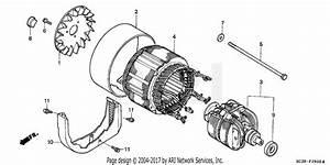 Honda Ew171 A Generator  Jpn  Vin  Eb1