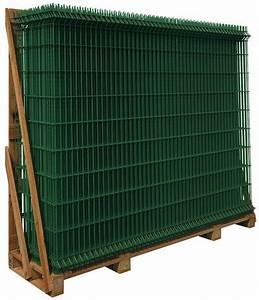 Grillage Soudé Brico Depot : panneau rigide acier galvanis confort vert l 2 x h 0 ~ Dailycaller-alerts.com Idées de Décoration