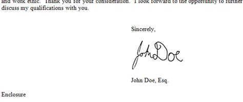 image gallery letter signature