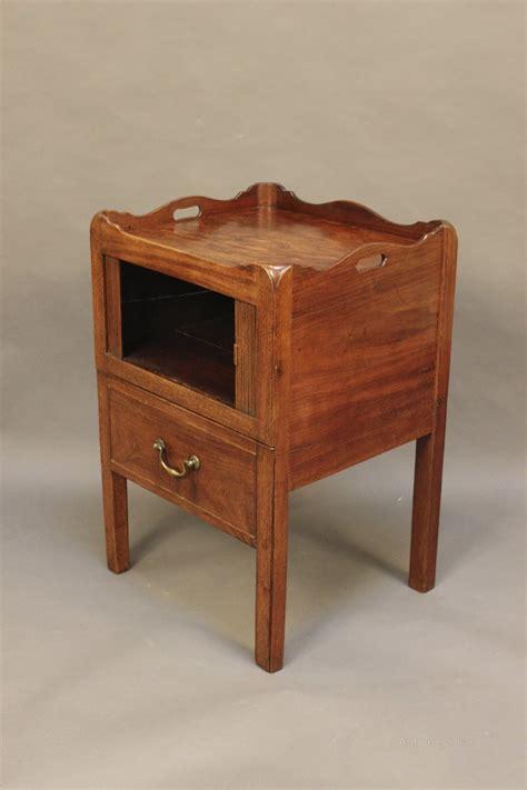 mahogany bedside cabinets mahogany bedside cabinet antiques atlas 3942