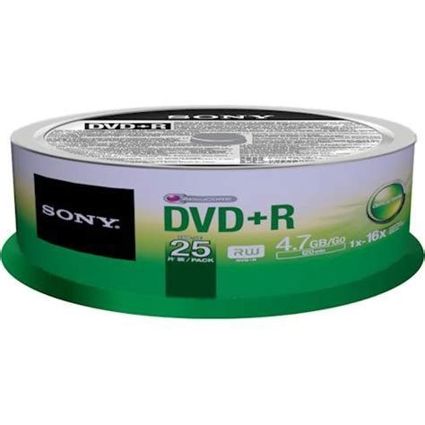 Best Buy: Sony 16x DVD R Discs with Spindle (25Pack