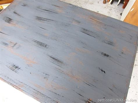 weathered wood gray finish tutorial
