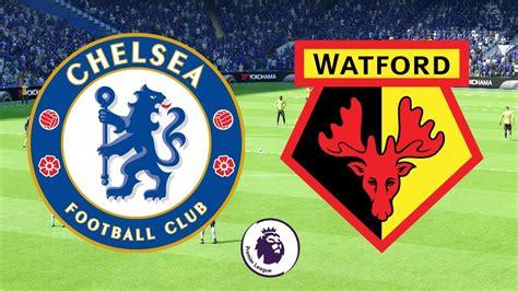Premier League 2017/18 - Chelsea Vs Watford - 21/10/17 ...