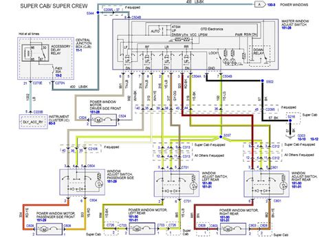 Power Window Wiring Schematic 1999 F 150 by Ford F150 2007 Passenger Side Power Window Will Not Go