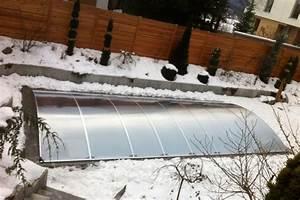 Poolabdeckung Winter Selber Bauen Wie : schwimmbad berdachung im winter flexiroof poolabdeckung ~ A.2002-acura-tl-radio.info Haus und Dekorationen