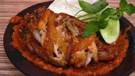 cara membuat ayam sambel pecel nikmat