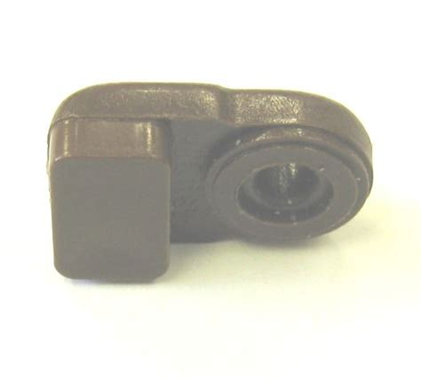 """Glass Retainer clip (1/8"""" offset), H 253 WAL (Hughes Supply)"""