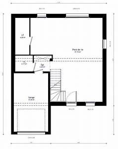 plan maison individuelle 3 chambres 40 habitat concept With awesome plan de maison de 100m2 0 plan de maison a etage 100m2