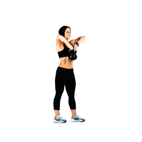 Bench Press Strength Training by Kettlebell Squat To Upright Row Exercise How To