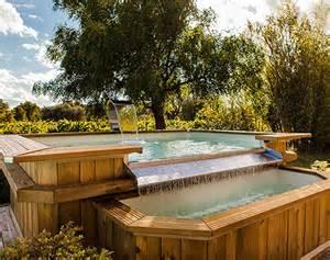 Piscine Hors Sol Chauffée : piscine hors sol d bordement ~ Mglfilm.com Idées de Décoration