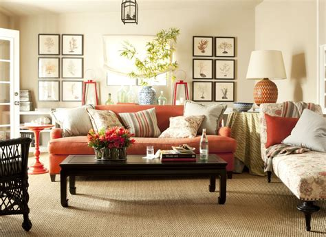Even i am not an orange fan, i am one of those people who painted their living room in orange. Leather Furniture Comfy Bright And Dark Brown Glossy ...