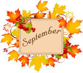 Image result for september word art