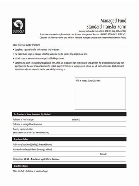 off market share transfer form standard transfer forms 7 free documents in word pdf