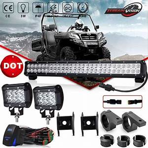 Led Light Bar 25 Inch 162w Offroad Light Bar Flood Spot