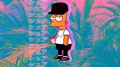 Simpson Bart Vaporwave