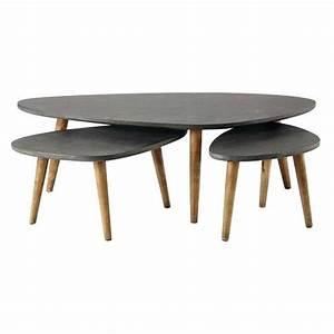 Table Gigogne Maison Du Monde : table gigogne vintage maison du monde avie home ~ Teatrodelosmanantiales.com Idées de Décoration
