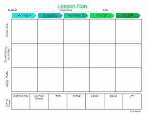 elegant free printable preschool lesson plan template With block schedule lesson plan template free