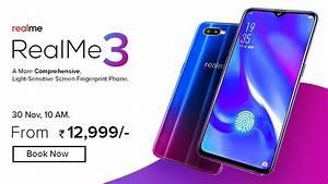 Realme 3   Price  Specifications  Release Date In India