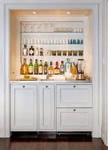 Built in Home Bar Designs