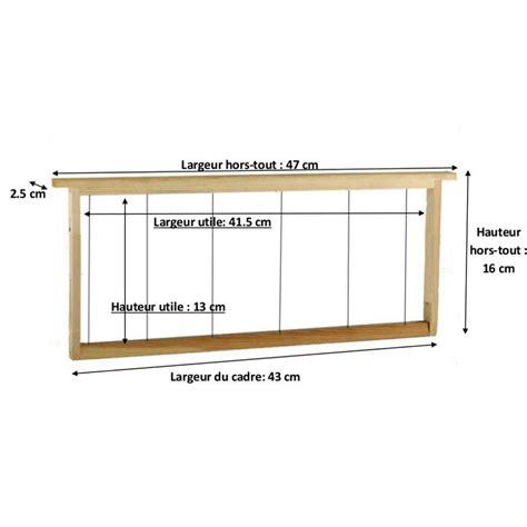 cadre de hausse dadant cadre pour hausse de ruche type dadant