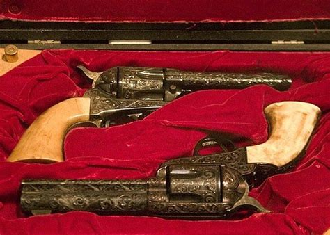 guns made for wayne bygreat western used by the duke in quot the shootist quot guns pinterest