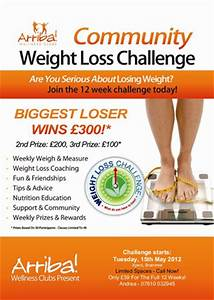 biggest loser 90 day challenge related keywords biggest With weight loss challenge flyer template