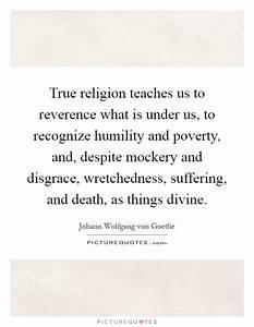 True Religion Q... Poverty And Religion Quotes
