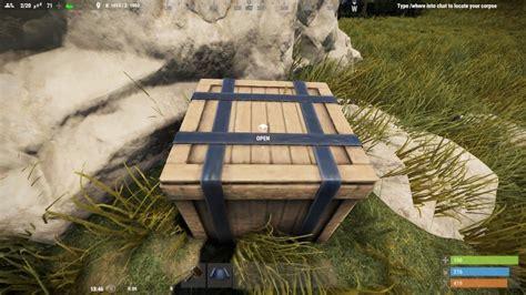 rust scrap ways fast crates barrels