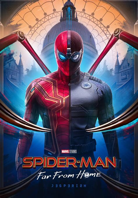 SPIDER-MAN FAR FROM HOME featurettes & spots & poster fun!