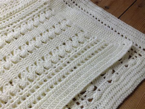 baby blanket crochet you have to see soft cream zigzag crochet baby blanket by hanjan crochet