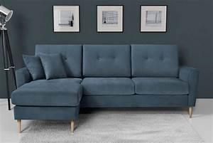 Canape bleu les meilleurs modeles pour habiller votre for Canapé convertible scandinave pour noël decoration magasin