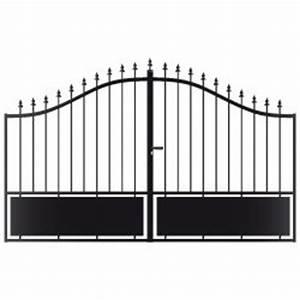 Portail 3 Metres : bien choisir un portail battant fer pas cher conseils et prix ~ Premium-room.com Idées de Décoration