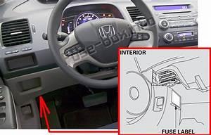 Fuse Box Diagram Honda Civic  2006