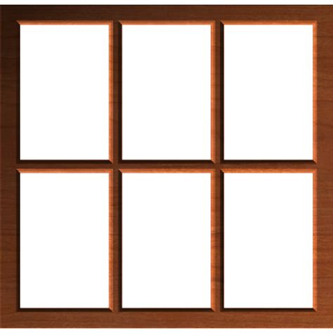 rustic window frame or border 002 a